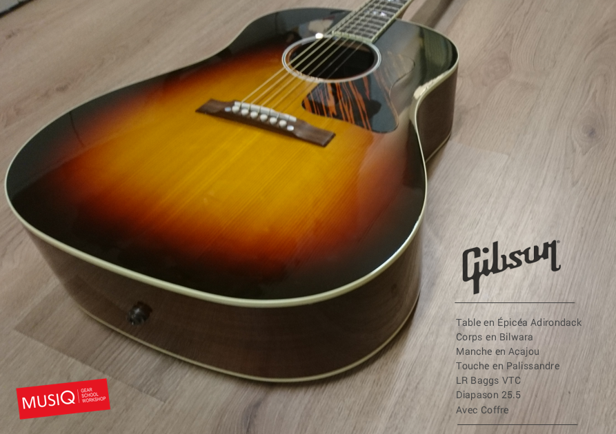 Gibson MUSIQ Advanced Jumbo Special
